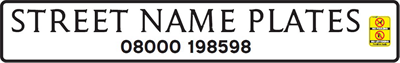 Street Nameplate