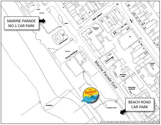 Lee Splash Park Map