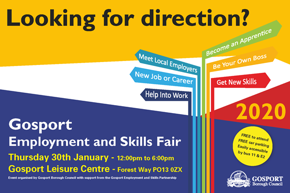 Gosport Employment Skills Fair 2020