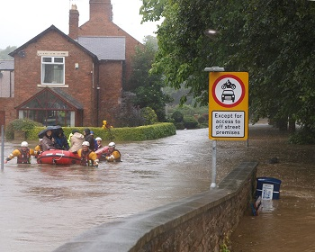 Climate change will lead to increased risk of flooding